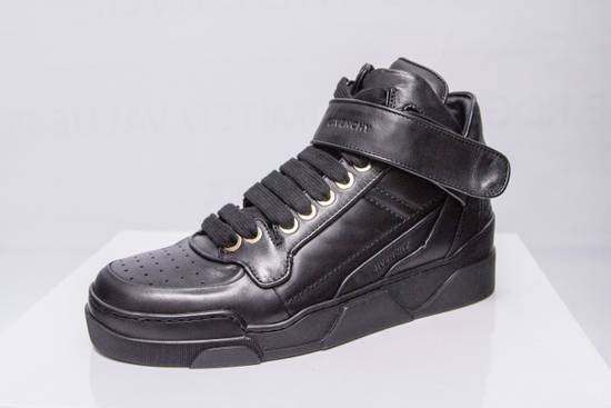 Givenchy BNIB DS Givenchy Black Leather Velcro-strap mid-top Size US 9.5 / EU 42-43 - 2
