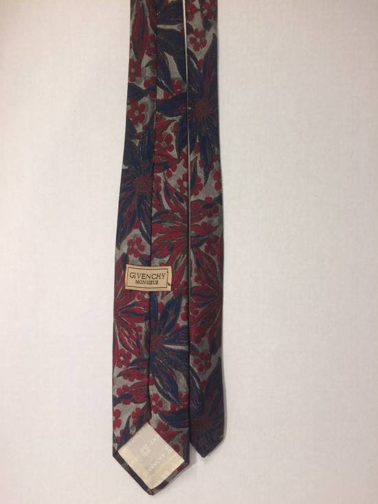 Givenchy Givenchy Monsieur Floral Print Tie Size ONE SIZE - 2