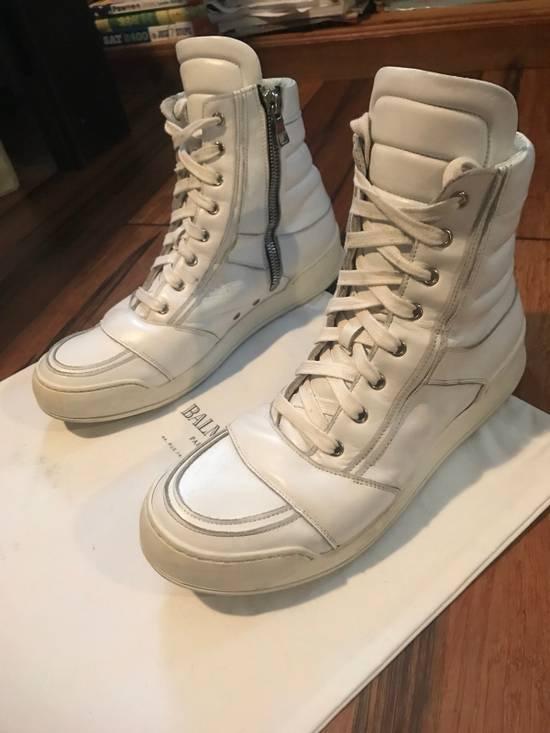 Balmain Balmain Leather High-Tops Size US 11 / EU 44 - 4