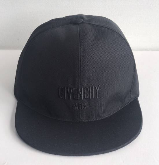Givenchy star print cotton baseball hat black Size ONE SIZE - 1