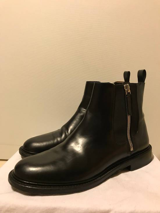 Givenchy Black Leather Chelsea Boots Size US 11 / EU 44