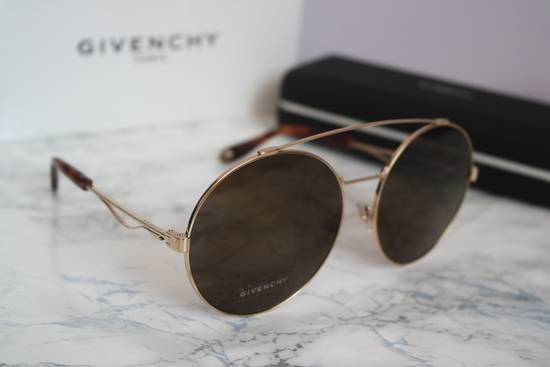 Givenchy NEW Givenchy 7048/S Oversized Round Aviator Sunglasses in Gold/Brown Size ONE SIZE - 7