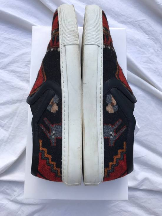 Givenchy FINAL DROP Persian Aztec Mexican slip on skate shoes wool ombre omega black red blue carpet print Size US 11 / EU 44 - 3