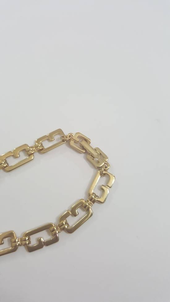 Givenchy Gold plated necklace G link Size ONE SIZE - 4