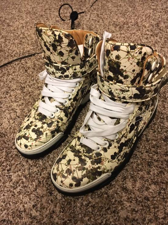 Givenchy Givenchy Floral High Top Sneakers Size US 10 / EU 43