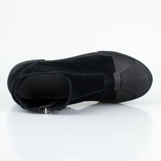 Julius 7 Black Cow Suede Leather Hi Top Sneakers Shoes Size US 11 / EU 44 - 4