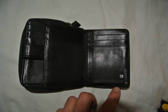 Givenchy Givenchy Wallet Purse cardholder leather Black & wine Made in italy Size ONE SIZE - 6