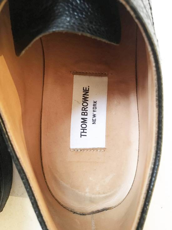 Thom Browne THOM BROWNE CLASSIC BROGUES WITH GUM SOLE IN BLACK PEBBLE GRAIN SIZE US11 Size US 11 / EU 44 - 8