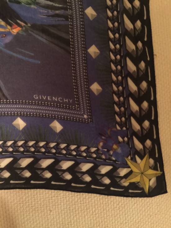 Givenchy Blue Givenchy Scarf 70cm X 70cm Size ONE SIZE - 3