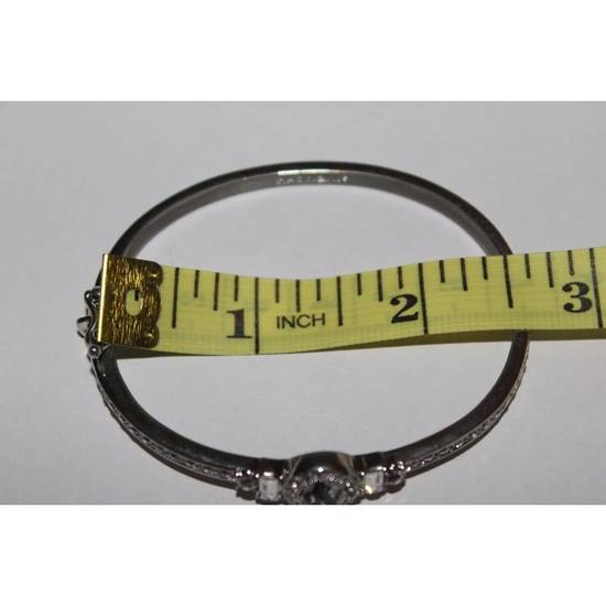 Givenchy Iced Out Silver Bangle Bracelet Size ONE SIZE - 5