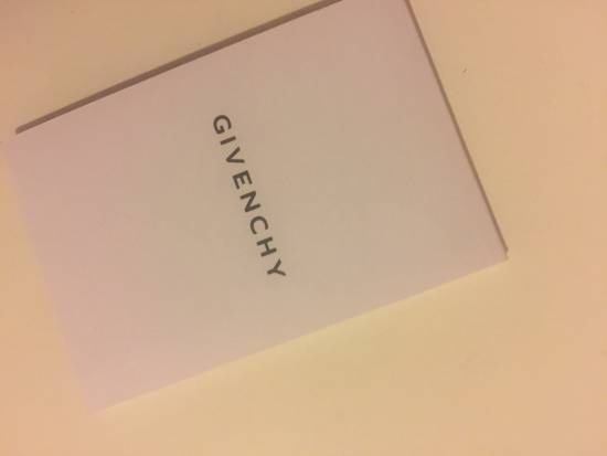 Givenchy Navy Lambskin 6 Slot Card Case Size ONE SIZE - 4
