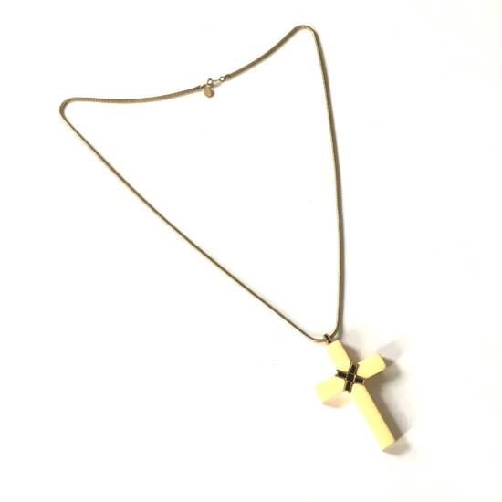Givenchy 1976 Runway Jesus Piece Pendant Chain Size ONE SIZE