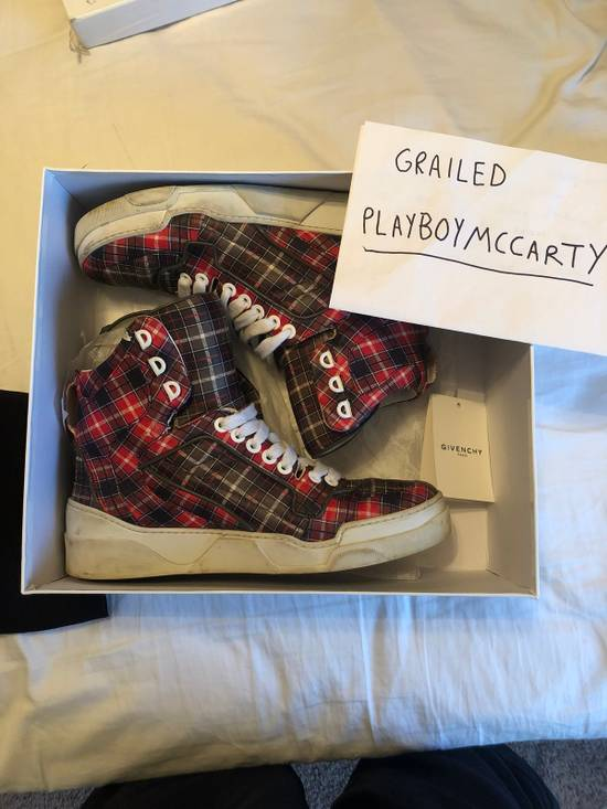 Givenchy Givenchy Plaid Tyson Sneakers Size US 10 / EU 43