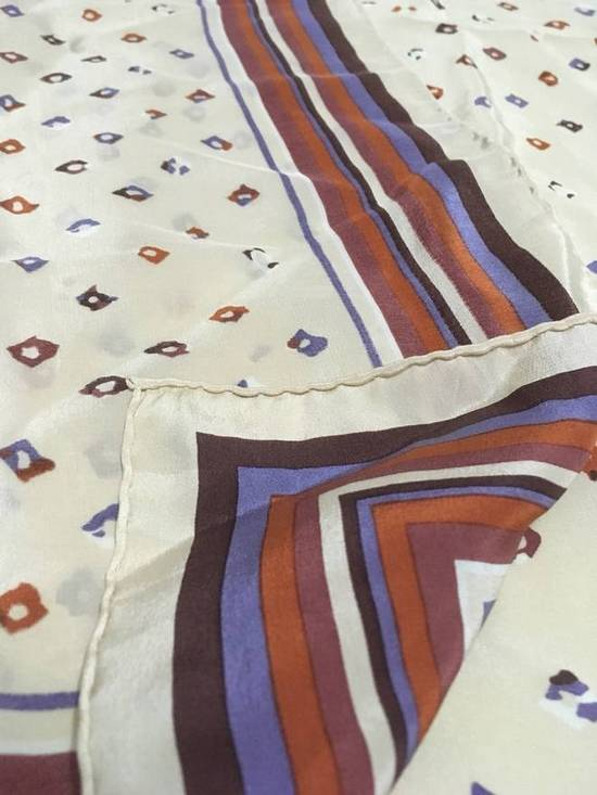 Givenchy Givenchy Stripe Silk Scarf Abstract Silk Scarves Size ONE SIZE - 4