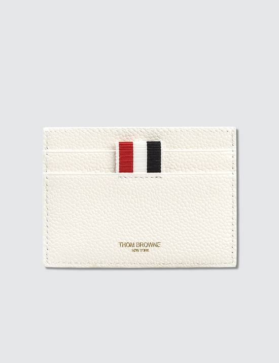 Thom Browne White Card Holder Size ONE SIZE