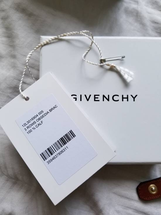 Givenchy GIVENCHY Black Calf-Hair Obsedia 3 Wrap Bracelet Size ONE SIZE - 6