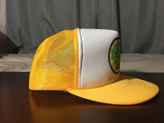 Pharrell Vintage N*E*R*D Gold/White Trucker Hat (2003) Size ONE SIZE - 3