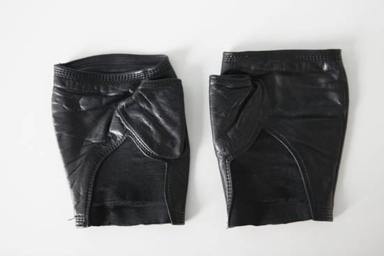 Julius Leather Gloves Size ONE SIZE - 2