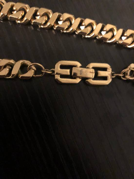Givenchy Gold Plated Curb-Link Chain Size ONE SIZE - 1