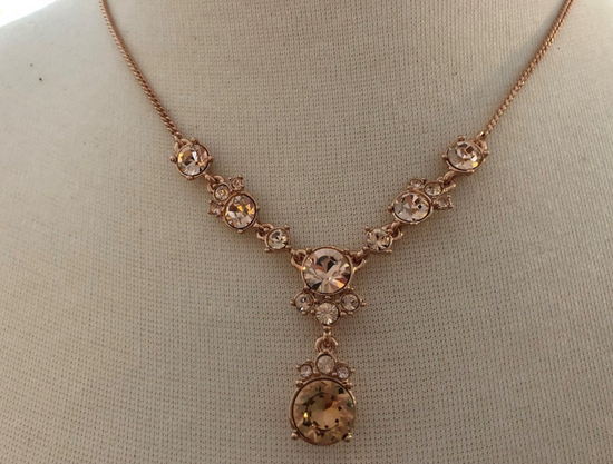Givenchy Givenchy Rose Gold Necklace Size ONE SIZE
