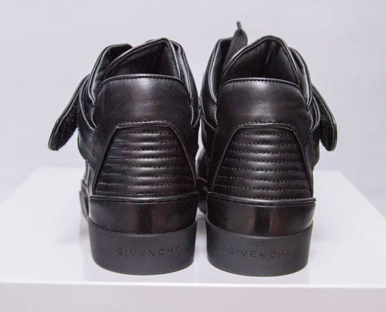 Givenchy BNIB DS Givenchy Black Leather Velcro-strap mid-top Size US 9.5 / EU 42-43 - 4