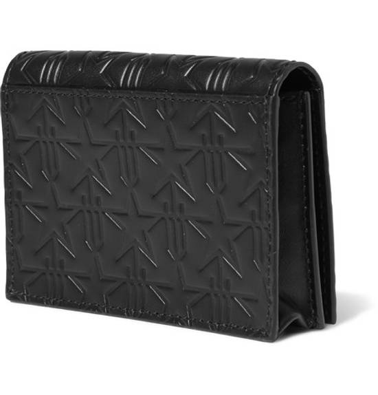 Givenchy Star-Embossed Leather Cardholder Size ONE SIZE - 2