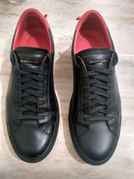 Givenchy Men's Black Urban Knots Leather Sneakers Size US 9.5 / EU 42-43 - 1