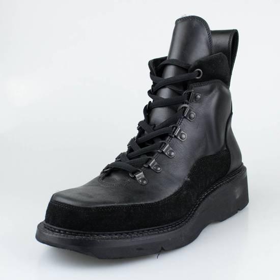 Julius 7 Black Cow Nubuck Leather Ankle Boots Shoes Size US 11 / EU 44 - 1