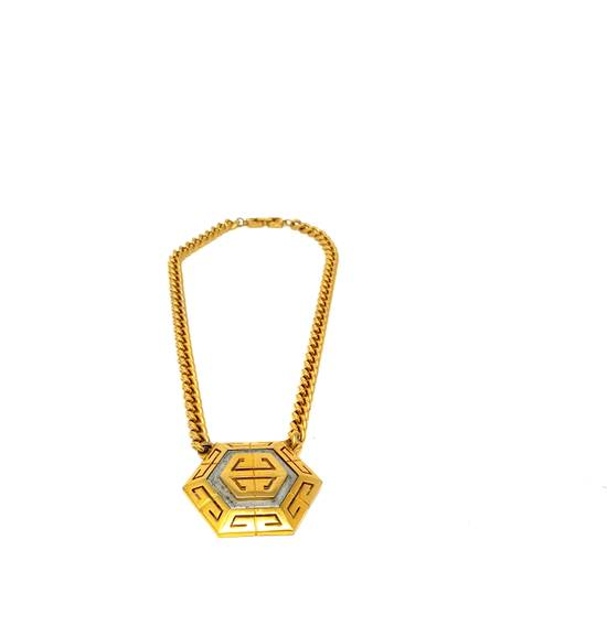 Givenchy OVERSIZED Gold plated logo necklace Size ONE SIZE - 8