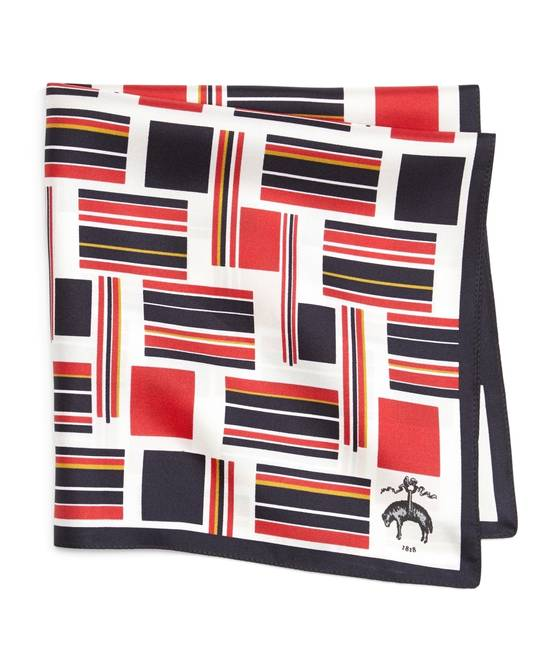 Thom Browne Flag Pocket Square NEW Size ONE SIZE