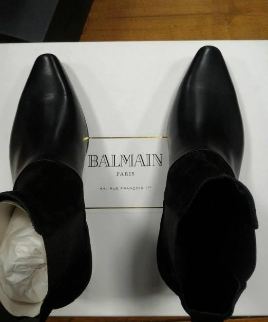 Balmain 40-41-42 Contrast Suede & Leather Boot Size US 9 / EU 42 - 9