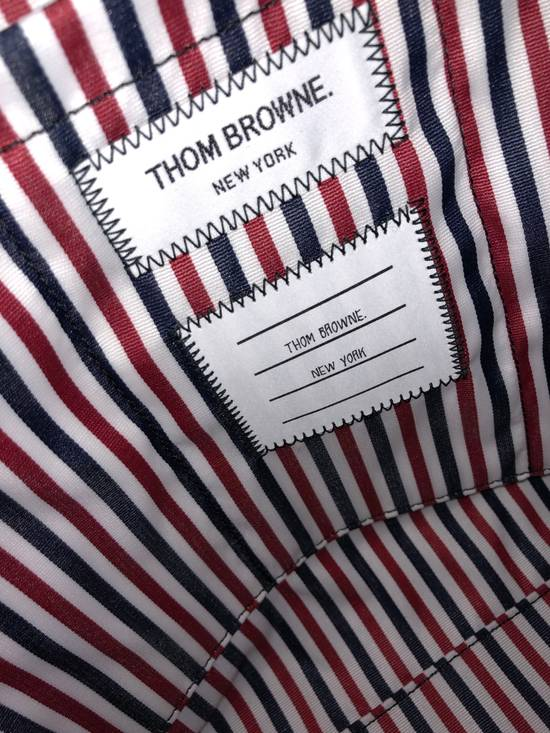 Thom Browne pebble grain leather tote bag Size ONE SIZE - 4