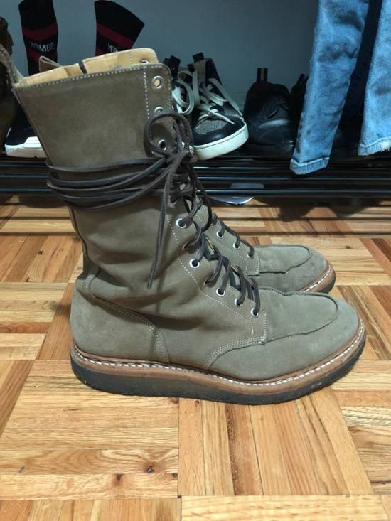 Balmain FW11 Military Ranger Boots (fit big) Size US 9 / EU 42