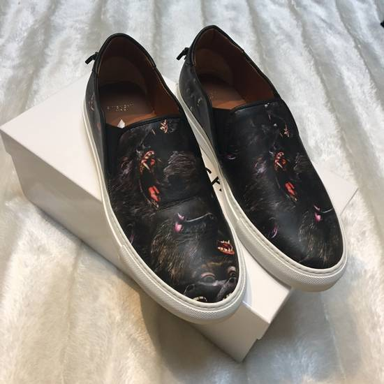 Balmain Givenchy Monkey Slip On Sneakers Size US 9 / EU 42