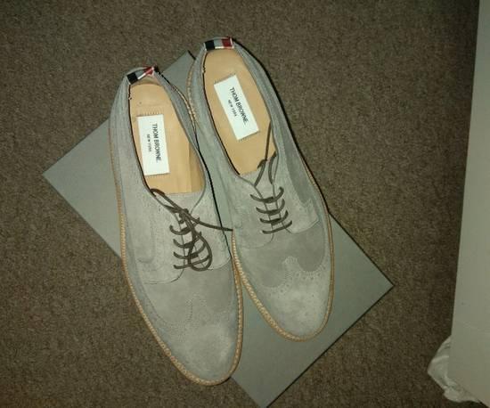 Thom Browne Thom Browne Grey Suede Longwing Brogues size UK 10 EU 44 Size US 11 / EU 44 - 1