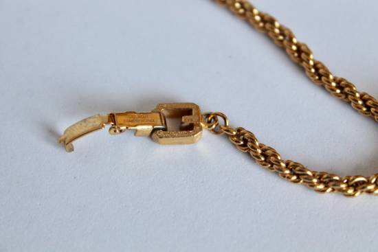 Givenchy Gold Plated Herringbone & Rope Link Bracelets (2) Size ONE SIZE - 3