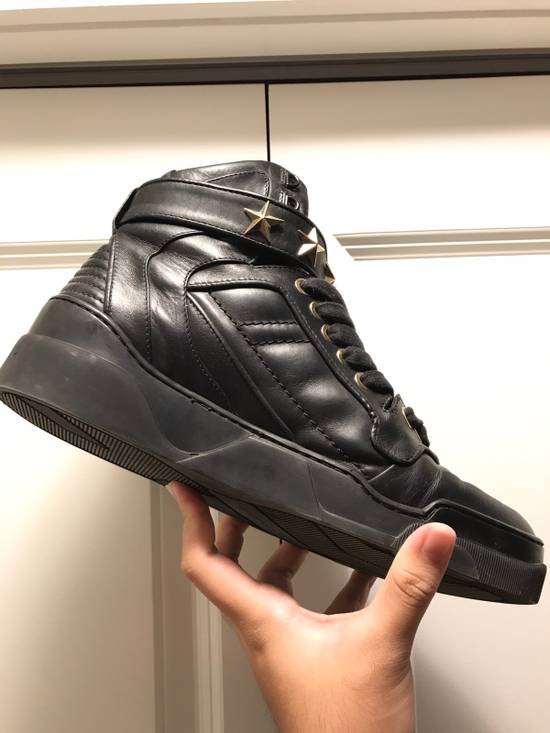 Givenchy Tyson Star Sneaker Black Gold Star Size US 11 / EU 44 - 6