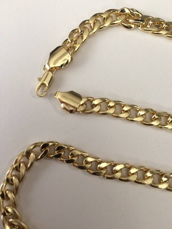 Jw Golden stainless steel Chain Necklace Size ONE SIZE - 2