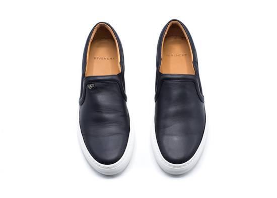 Givenchy Givenchy Men's Black Leather Skate Shoe Slip Ons Size Size US 11 / EU 44 - 1