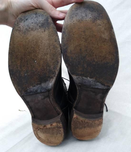 Julius f/w09 Tall Combat Boots Black Size US 11 / EU 44 - 11