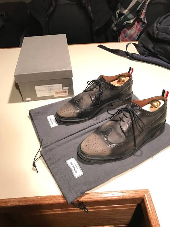 Thom Browne Phase 3 Distressed Classic Longwing Brogue Size US 10 / EU 43 - 1