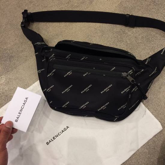 Balenciaga SOLD OUT Balenciaga Waist Bag Hip Bag Fanny Pack With All Over Logo Print Size ONE SIZE - 2