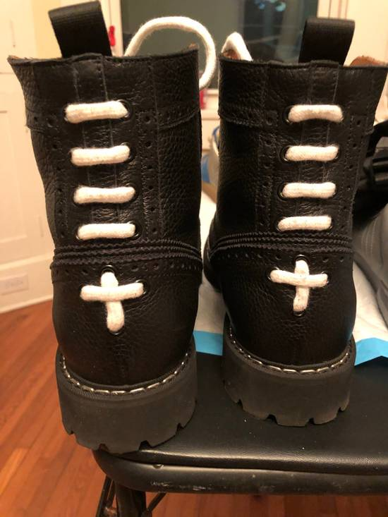 Givenchy Givenchy Runway Leather Commando Boots Size US 11 / EU 44 - 2