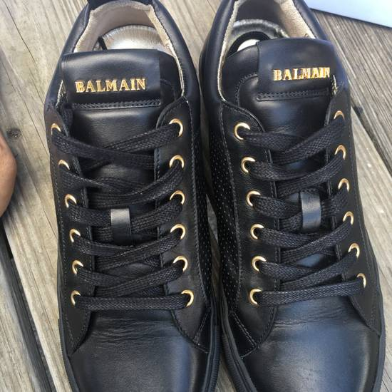 Balmain Back Leather Lowtop Sneaker Size US 8 / EU 41 - 7