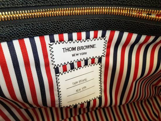 Thom Browne Thom Browne Business Bag briefcase suitcase Black Pebble Grain Size ONE SIZE - 6