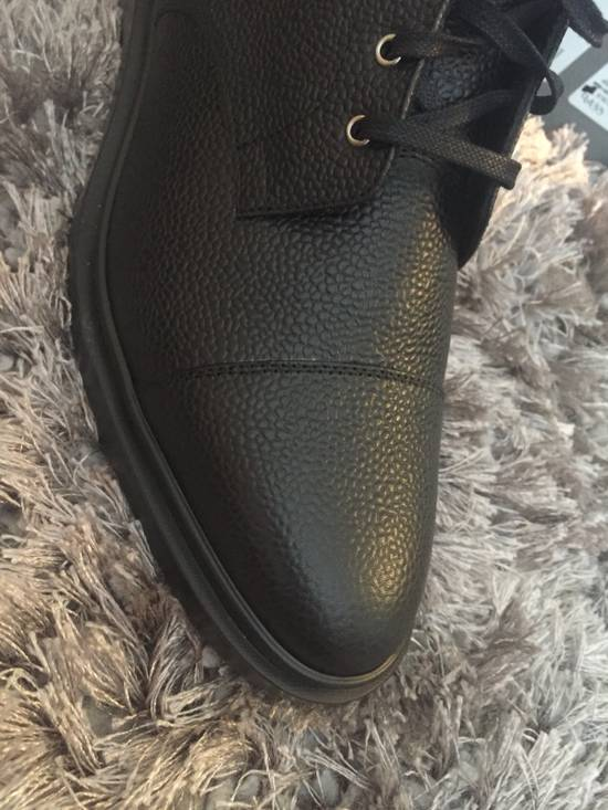 Thom Browne New $790 Pebbled Leather Boots Size US 8 / EU 41 - 14