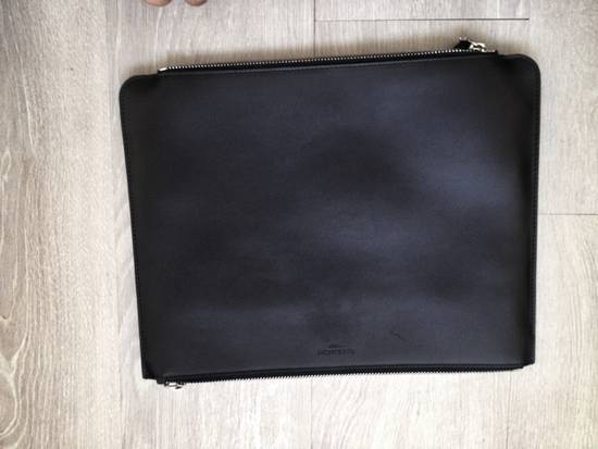 Givenchy Double Zipper Leather Pouch Size ONE SIZE - 1