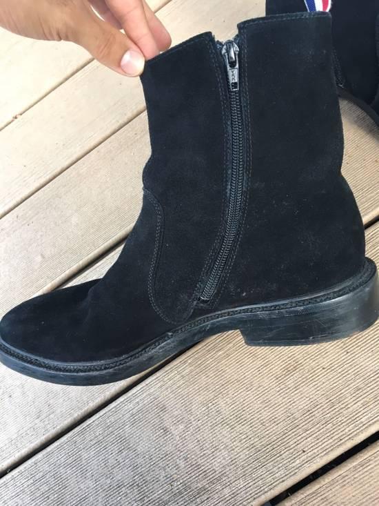 Thom Browne Black Chelsea Boots Side Zip 10.5 Size US 10.5 / EU 43-44 - 2