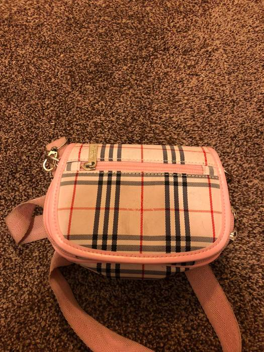 325ffc989965 Burberry Pink Plaid Handbag - Handbag Photos Eleventyone.Org