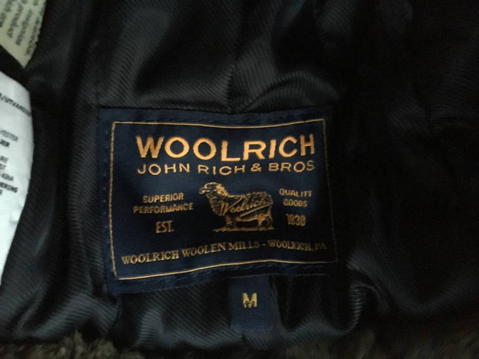 Woolrich John Rich   Bros. Rabbit-Trimmed Cotton Blend Trapper Hat Size ONE  SIZE 2927261edf6b